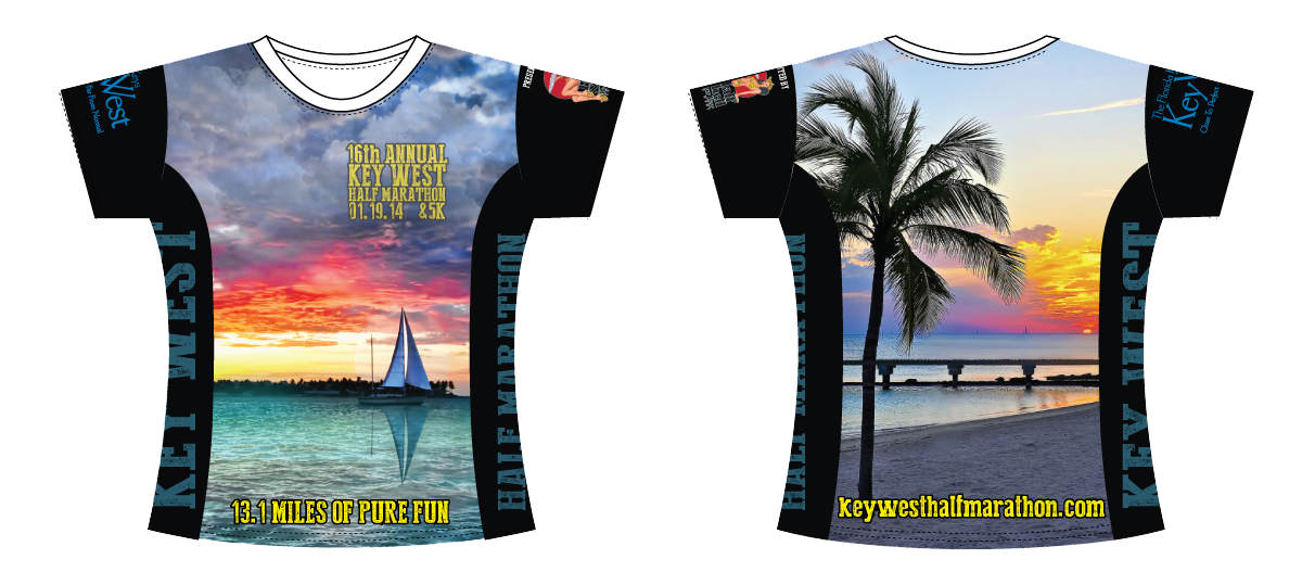 Key West Half Marathon 2014 T-Shirt