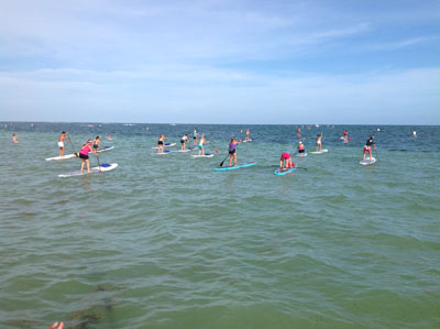 Hemingway/Lazy Dog Outfitters Paddle Board Race