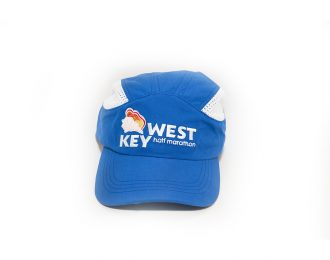 KEY WEST HALF MARATHON HAT BLUE