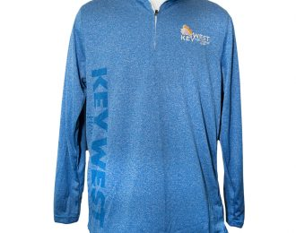 MEN'S QUARTER ZIP BLUE