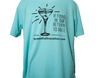 MEN'S TEAL MARTINI T-SHIRT