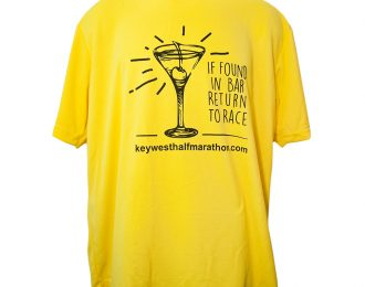 MEN'S YELLOW MARTINI T-SHIRT