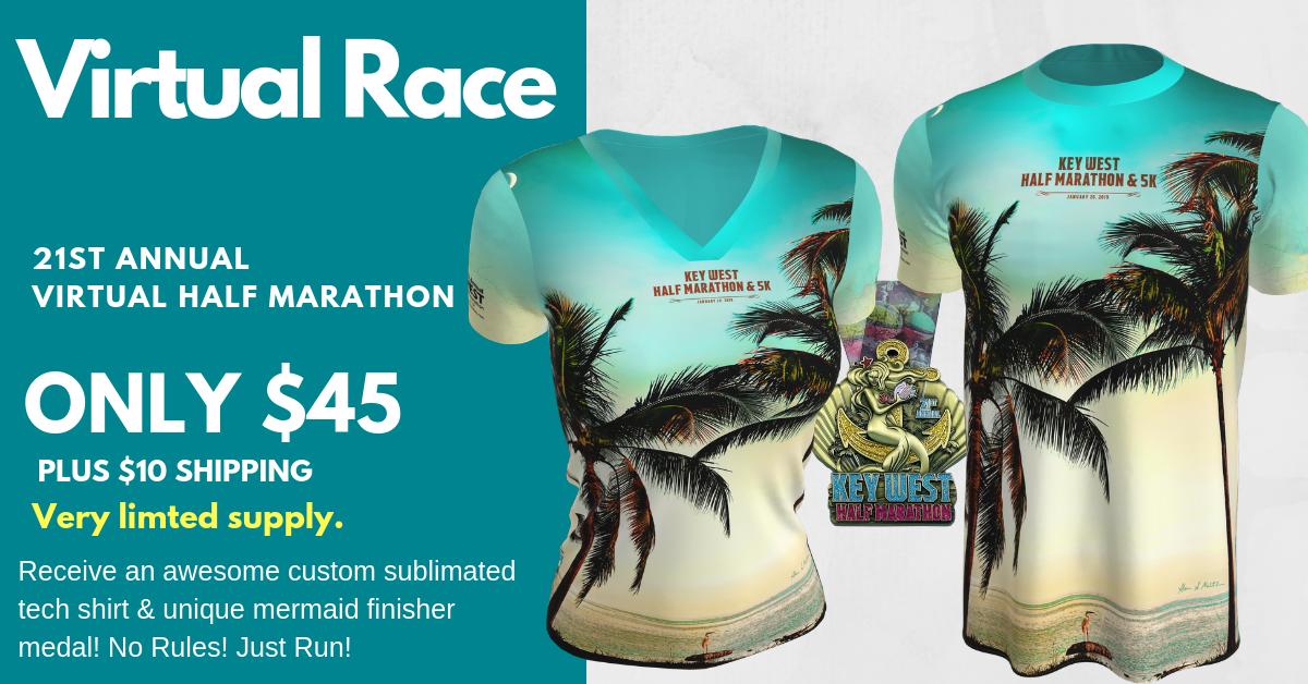 Key West Half Marathon & Hemingway 5K Sunset Run